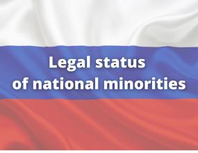 Legal status of national minorities